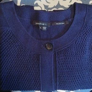Navy blue Italian Yarn sweater